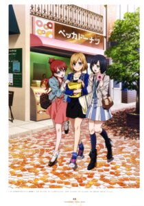 Rating: Safe Score: 38 Tags: dress heels miyamori_aoi sakaki_shiinaka sekiguchi_kanami shirobako yasuhara_ema User: drop