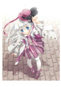 Rating: Safe Score: 28 Tags: gothic_lolita kyougetsutei lolita_fashion miyashita_miki paper_texture User: crim