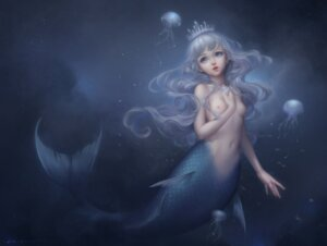 Rating: Questionable Score: 58 Tags: bain-henpen breast_hold mermaid monster_girl naked nipples tail User: mattiasc02