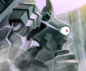 Rating: Safe Score: 3 Tags: kurogane_no_linebarrels mecha tagme User: Radioactive