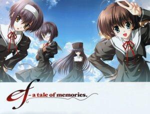 Rating: Safe Score: 11 Tags: amamiya_yuuko ef_~a_fairytale_of_the_two~ ef_~a_tale_of_memories~ eyepatch miyamura_miyako nanao_naru seifuku shindou_chihiro shindou_kei User: Pilad