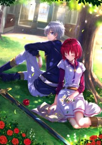 Rating: Safe Score: 37 Tags: akagami_no_shirayukihime shirayuki_(akagami_no_shirayukihime) sword swordsouls zen_wistalia User: Mr_GT