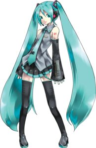 Rating: Safe Score: 34 Tags: hatsune_miku kei tattoo thighhighs vocaloid User: Sunimo