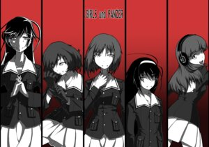 Rating: Safe Score: 10 Tags: akiyama_yukari girls_und_panzer isuzu_hana kaya_(nari1-24) nishizumi_miho reizei_mako takebe_saori User: Radioactive
