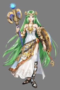 Rating: Safe Score: 16 Tags: armor dress hirooka_masaki kid_icarus kid_icarus:_uprising nintendo palutena thighhighs transparent_png User: Radioactive