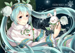 Rating: Safe Score: 21 Tags: hatsune_miku vocaloid xia_si_kong yuki_miku User: charunetra