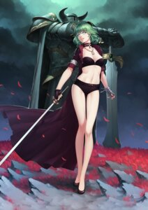 Rating: Safe Score: 50 Tags: armor cleavage open_shirt sword thank_star User: Mr_GT