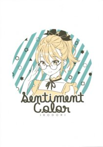 Rating: Safe Score: 5 Tags: ancotaku megane sentiment_color User: kiyoe