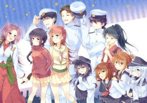 Rating: Safe Score: 24 Tags: admiral_(kancolle) akatsuki_(kancolle) female_admiral_(kancolle) hibiki_(kancolle) houshou_(kancolle) ikazuchi_(kancolle) inazuma_(kancolle) junyou_(kancolle) kantai_collection kitakami_(kancolle) komi_zumiko ooi_(kancolle) User: fairyren