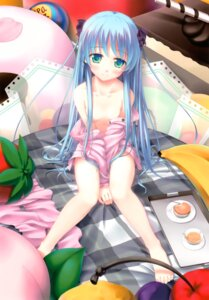 Rating: Questionable Score: 92 Tags: kazami_haruki loli no_bra pajama scanning_resolution undressing User: es