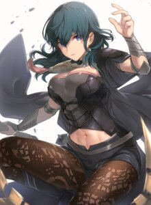 Rating: Safe Score: 26 Tags: armor byleth_(fire_emblem) cleavage fire_emblem fire_emblem_three_houses haru_(nakajou-28) pantyhose weapon User: BattlequeenYume