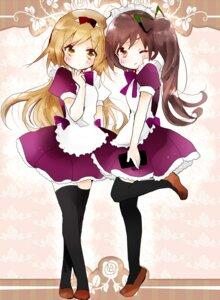 Rating: Safe Score: 38 Tags: maid thighhighs tsukiyo_(skymint) User: KazukiNanako