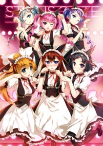 Rating: Safe Score: 33 Tags: animal_ears fujima_takuya maid steins;gate User: drop