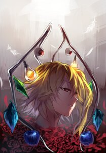 Rating: Questionable Score: 13 Tags: flandre_scarlet touhou uu_uu_zan wings User: charunetra