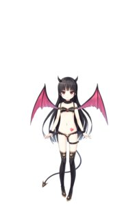 Rating: Questionable Score: 39 Tags: bra cura digital_version garter hachiroku horns loli lose maitetsu pantsu tail tattoo thighhighs wings User: shadowcrash