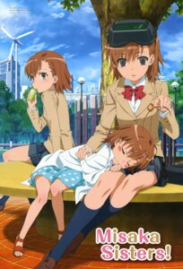 Rating: Safe Score: 37 Tags: iizuka_haruko last_order misaka_imouto misaka_mikoto seifuku to_aru_majutsu_no_index User: vita