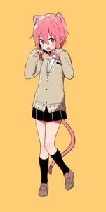 Rating: Safe Score: 26 Tags: animal_ears klii00 seifuku sweater tail User: nphuongsun93