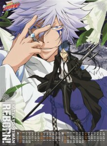Rating: Safe Score: 4 Tags: byakuran calendar katekyo_hitman_reborn! male rokudou_mukuro User: blooregardo