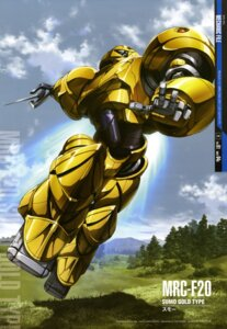 Rating: Safe Score: 10 Tags: abe_shingo gundam mecha sumo turn_a_gundam User: Radioactive