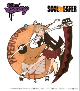Rating: Safe Score: 8 Tags: maka_albarn scanning_artifacts soul_eater soul_eater_(character) User: CureMoe