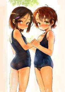 Rating: Questionable Score: 21 Tags: ass cameltoe erect_nipples loli sasahara_yuuki school_swimsuit swimsuits tan_lines User: Nico-NicoO.M.