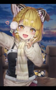 Rating: Safe Score: 25 Tags: animal_ears granblue_fantasy hyouta_(nekogamirin_c) nekomimi sweater tail vajra_(granblue_fantasy) User: BattlequeenYume