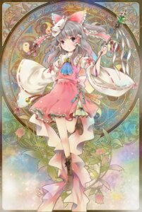 Rating: Safe Score: 22 Tags: hakurei_reimu michii_yuuki touhou User: fairyren