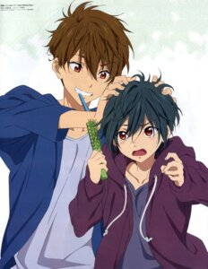 Rating: Safe Score: 5 Tags: free! high_speed! kirishima_ikuya kirishima_natsuya male nagahama_ayaka User: kunkakun