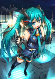 Rating: Safe Score: 27 Tags: hatsune_miku magu_(mugsfc) thighhighs vocaloid User: Radioactive