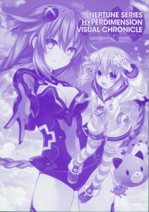 Rating: Safe Score: 6 Tags: choujigen_game_neptune cleavage leotard monochrome neptune purple_heart thighhighs tsunako User: Radioactive