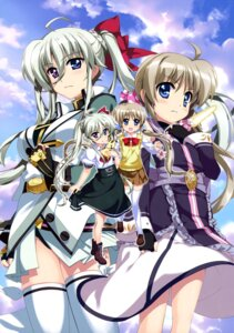 Rating: Safe Score: 22 Tags: asteion corona_timir einhart_stratos fujima_takuya heterochromia mahou_shoujo_lyrical_nanoha mahou_shoujo_lyrical_nanoha_vivid pantsu possible_duplicate seifuku thighhighs User: drop