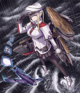 Rating: Safe Score: 29 Tags: graf_zeppelin_(kancolle) heels kantai_collection pantyhose shao_(newton) uniform User: Mr_GT