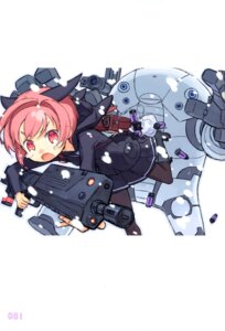 Rating: Safe Score: 15 Tags: granada_level9 gun kuroboshi_kouhaku pantyhose seifuku User: fireattack
