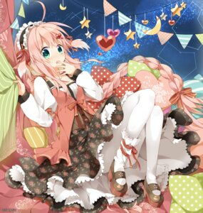 Rating: Questionable Score: 48 Tags: dress nana_kusun pantyhose User: KazukiNanako