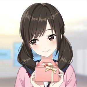 Rating: Safe Score: 32 Tags: iwamotocho_geinosha kurihara_sakurako seifuku sweater tagme valentine User: saemonnokami