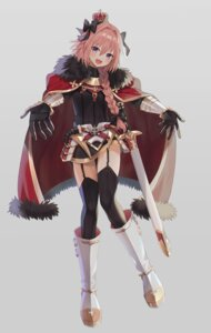Rating: Safe Score: 18 Tags: abandon_ranka armor astolfo_(fate) fate/apocrypha fate/grand_order fate/stay_night stockings sword thighhighs trap User: animeprincess
