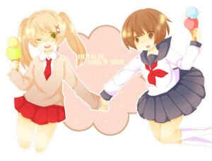 Rating: Safe Score: 3 Tags: hetalia_axis_powers japan mochiko seifuku united_kingdom User: yumichi-sama
