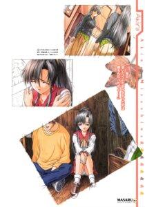 Rating: Safe Score: 2 Tags: ashita_no_yukinojou elf_(company) mizushima_akira nanase_aoi pantsu seifuku User: Anonymous
