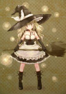 Rating: Safe Score: 19 Tags: kirisame_marisa meltdown_comet touhou witch yukiu_con User: midzki