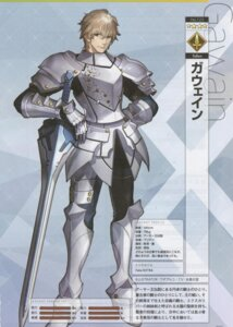 Rating: Safe Score: 3 Tags: armor binding_discoloration fate/grand_order gawain_(fsn) male profile_page wada_rco User: Radioactive