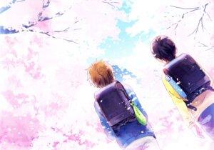 Rating: Safe Score: 9 Tags: free! high_speed! male nanase_haruka tachibana_makoto User: kunkakun