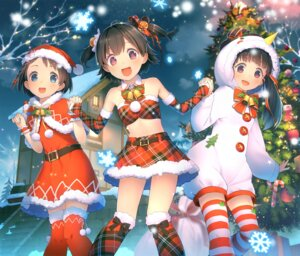 Rating: Safe Score: 42 Tags: akagi_miria christmas dress fukuyama_mai sasaki_chie teiryoku_lolita the_idolm@ster the_idolm@ster_cinderella_girls thighhighs User: Mr_GT