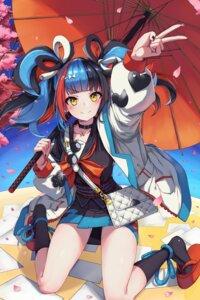 Rating: Safe Score: 31 Tags: chirang fate/grand_order japanese_clothes sei_shounagon_(fate) umbrella User: Arsy