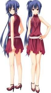 Rating: Safe Score: 51 Tags: dress muririn nagamitsu_maya noble_works yuzu-soft User: Odin41028