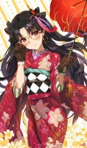 Rating: Safe Score: 53 Tags: fate/grand_order ishtar_(fate/grand_order) kimono megane toosaka_rin umbrella yang-do User: Mr_GT