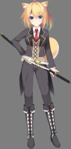 Rating: Safe Score: 12 Tags: animal_ears business_suit dessert_soft kamisama_no_shippo_~kanshi_kamisama-tachi_no_ongaeshi~ sword tagme tail transparent_png User: moonian