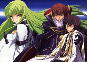 Rating: Safe Score: 16 Tags: c.c. code_geass kururugi_suzaku lelouch_lamperouge tabata_hisayuki User: Aurelia