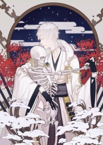 Rating: Safe Score: 6 Tags: 282milk armor japanese_clothes male touken_ranbu tsurumaru_kuninaga User: charunetra