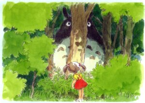 Rating: Safe Score: 5 Tags: kusakabe_mei oga_kazuo tonari_no_totoro totoro User: Radioactive