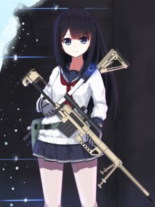 Rating: Safe Score: 32 Tags: gun seifuku unscpro User: Mr_GT